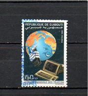 Timbre Oblitére De Djibouti 1998 - Yibuti (1977-...)