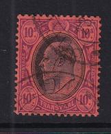 Transvaal: 1904/09   Edward    SG271   10/-       Used - Transvaal (1870-1909)