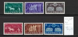 LUXEMBOURG - Yvert 443-448** Droits De L'Homme - 1951 - DEPART 1 EURO - Unused Stamps