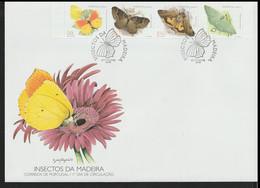 Madeira Large FDC 1998 Butterflies (LAR8-98) - Schmetterlinge