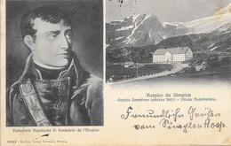 Suisse Valais (Wallis) - Hospice Du Simplon Napoléon Bonaparte 1911-10-13 TB - VS Valais