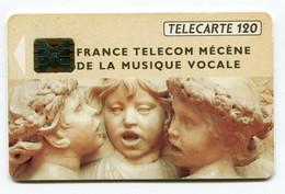 Telecarte 120 °_ 292A-10.92-Musique Vocale-Sc5an-Ge 0177 - R/V - 120 Unità