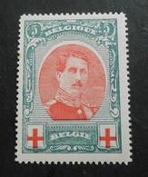 1915 : Cob 132 ** ( Sans Charnière D9) Voir Verso Lire! - 1914-1915 Rotes Kreuz