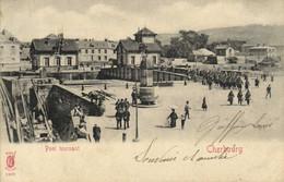 Cherbourg Pont Tournant Passage De Troupes Pionnière RV - Cherbourg