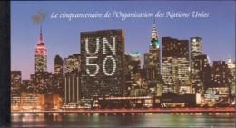 UNO GENF MH 1, Postfrisch **, 50 Jahre UNO, 1995 - Markenheftchen