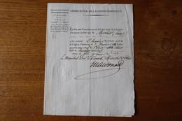 Ordre La Légion D'Honneur Brevet De Nomination 1814  1817 Autographe Maréchal Duc De Tarente Mac Donald - Documents Historiques