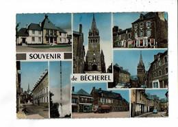 35 - BECHEREL - Multivues, Souvenir, Camion Citerne  - 3941 - Bécherel