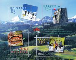 Switzerland 2005 Mountains Berge Schreckhorn Centenary Of Friends Of Nature Switzerland MNH ** - Nuovi
