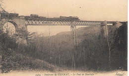 A/376              03          Gannat                  Le Pont De Neuviale   - Passage D'un Train - Other Municipalities