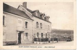 A/376              03          Saint-bonnet-tronçais       - Hotel Greuzat - Other Municipalities