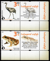 Finland - PetersPost - 2021 - Europa CEPT - Endangered National Wildlife - Mint Stamp Set With Labels - Unused Stamps