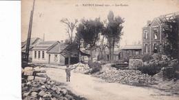 Nauroy 1921 Les écoles, Très Rare - Other Municipalities