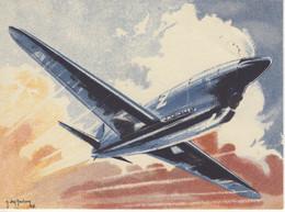 Caudron  -  Coupe Deutsch  -  Par Carte Postale Illustrateur Jean Des Gachons  -  CPA - 1919-1938: Entre Guerras