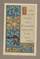 IMAGE PIEUSE.. édit. Bonamy N 163.. Souvenir 26 Mai 1892 - Images Religieuses