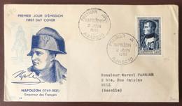FRANCE - N°896 - FDC Napoléon - 2 Juin 1951 - Cote 170€ - (A1393) - 1950-1959