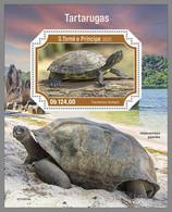SAO TOME 2021 MNH Turtles Schildkröten Tortues S/S - OFFICIAL ISSUE - DHQ2134 - Schildkröten