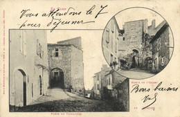 Le TARN  CORDES Porte De L' Ouest Porte Du Vainqueur Labouche Pionnière RV Beau Cachet Penne Sur Tarn - Cordes