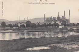 (196) CPA  Pont Saint Vincent  Les Hauts Fourneaux - Other Municipalities