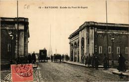 CPA BAYONNE Entrée Du Pont St-Esprit (411531) - Bayonne