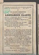 18/08/A/   °  RUYSSELEDE  1798 + OOSTCAMP 1874 E.H.LEONARDUS CLAEYS PASTOR TE BRUBBE/BLANKENBERGHE OOSTCAMP - Religion & Esotericism