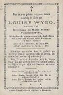 18/08/B//   °  SWEVEZELE  1790 + 1873   LOUISE WYBO - Religione & Esoterismo