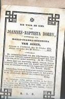 18/08/B//   ° YPEREN 1794  + 1859   JOANNES BORRY - Religione & Esoterismo
