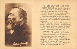 Peter Benoit - Compositeur Né à Harelbeke - Harelbeke