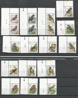 Lot Préo's  **  Postfris Zonder  Scharnier Met Drukdatum In Velrand ( Zegels Zijn Apart Verkrijgbaar ) - 1985-.. Birds (Buzin)
