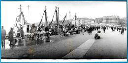 PHOTO Photographie De Presse : 13 MARSEILLE - Le Port (vente De Poissons Par Les Pêcheurs) Pêche - Lieux