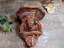 Console Style Gothique Sculpture Personnage Grotesque Quasimodo - Altri