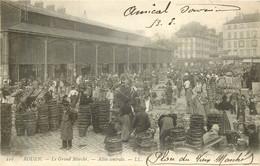 ROUEN Le Grand Marché Allée Centrale - Rouen