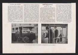 Pub Papier 1931  Automobiles Car Autobus Autocar Bus Autocars Renault Sans Receveur Et Pointage De Billet - Advertising