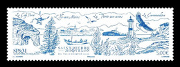 St. Pierre And Miquelon 2021 Mih. 1361 Exceptional Islands. Ships. Fauna. Birds. Lighthouse. Church MNH ** - Unused Stamps