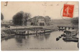 CPA 95 - L'ISLE ADAM (Val D'Oise) - 3. Place Du Patis -E.L.D. - L'Isle Adam