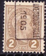 Luxemburg 1905  Prifixnr. 23B - Precancels