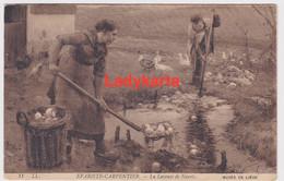 MUSEE DE LIEGE -- EVARIST CARPENTIER  - LA LAVEUSE DE NAVETS - Liège