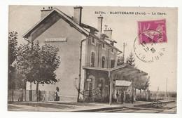 39 BLETTERANS Vers Lons Le Saunier N°21734 LA GARE En 1931 - Other Municipalities