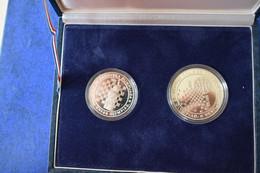 YUGOSLAVIA  COINS  100 150 DINARA CHESS OLYMPIAD 1990 - Yougoslavie