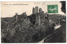 CPA 23 - CROZANT (Creuse) - 65. L'entrée Des Ruines - Crozant