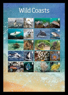 Great Britain 2021 Mih. 4809I/18I Fauna. Wild Coasts (M/S) MNH ** - Unused Stamps