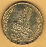 Medalla Conmemorativa BARCELONA 1992. OLYMPHILEX, Juegos Olimpicos, Cupro Niquel - Professionals/Firms