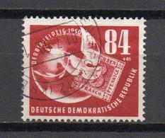 - ALLEMAGNE DDR N° 14 Oblitéré - 84 P. + 41 P. Rouge-brun Exposition Leipzig 1950 - Cote 15,00 € - - Used Stamps