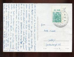 """DDR / Ca. 1953 / Karte (AK """"Dampflok"""") Mit ER (Bogen-Nr.)-Frankatur (2995) - Briefe U. Dokumente"""