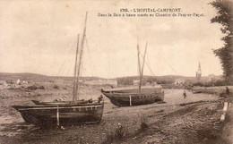 D29  L'HOPITAL CAMFRONT ( CAMPFROUT )  Dans La Baie à Marée Basse Au Chantier De Parc Ar Fagot - Andere Gemeenten