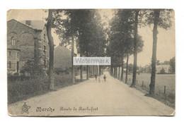 Marche-en-Famenne - Route De Rochefort - écrite 1918 - Marche-en-Famenne