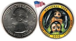 USA - Quarter Dollar - 2020 P (National Park - American Samoa - Color) - 2010-...: National Parks