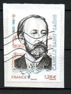 France Oblitéré Used  2021 St Saens Camille N° >>>   Cachet Vague - Oblitérés