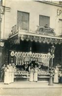 Carte Photo. Devanture De La Boucherie E. Laneau. 29 Rue Du Pont Neuf Paris 1er - Shops