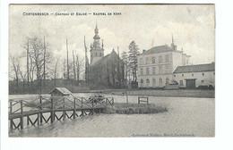 Kortenbos  CORTENBOSCH - CHATEAU ET EGLISE  -  KASTEEL EN KERK 1922 - Sint-Truiden