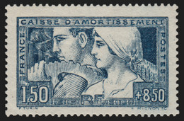 N°252b, Le Travail 1928, Type III, Neuf ** Sans Charnière - TB - Nuovi